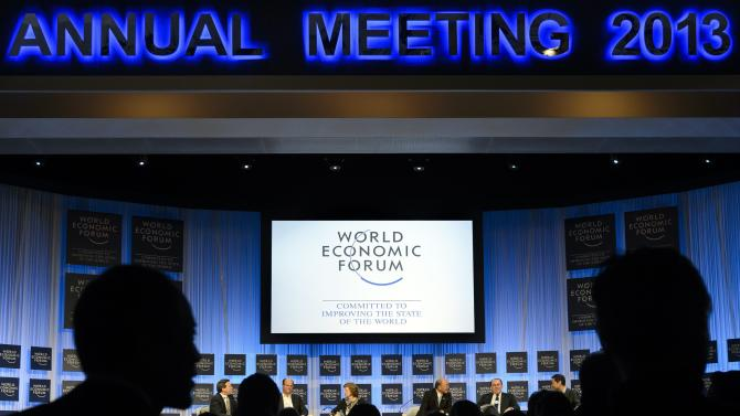 Fragile economy, other global woes dominated Davos