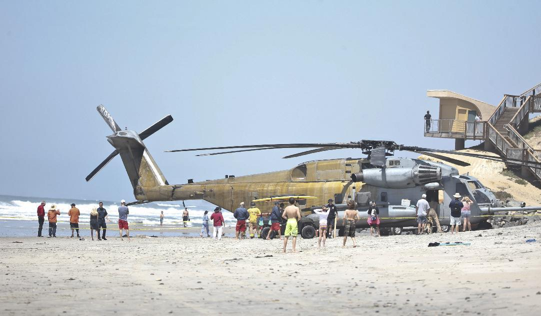 More details due on helicopter landing that killed 1 Marine