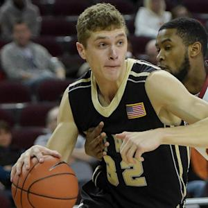 Patriot League Prime Play: Army's Tanner Plomb Finishes With Aplomb