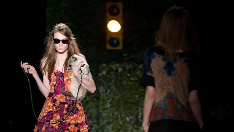 Animal prints, flats and a timid cat at Reese