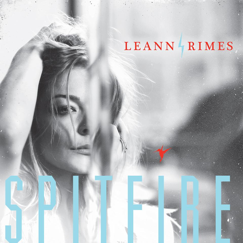 "This CD cover image released by Curb Records shows ""Spitfire,"" the latest release by LeAnn Rimes. (AP Photo/Curb Records)"