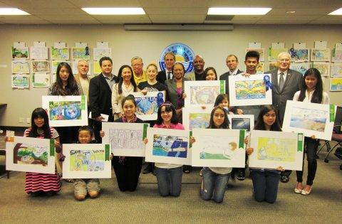 Local Students Win West Basin's Water-Focused Art Contest