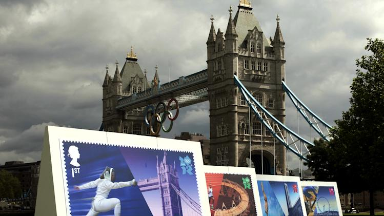 Britain's Royal Mail to issue Olympic champ stamps