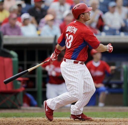 Brown hits 2nd spring HR, Phillies beat Yankees