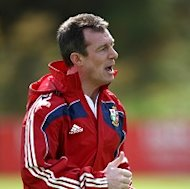Rob Howley is happy with the blend of youth and experience in his Wales side