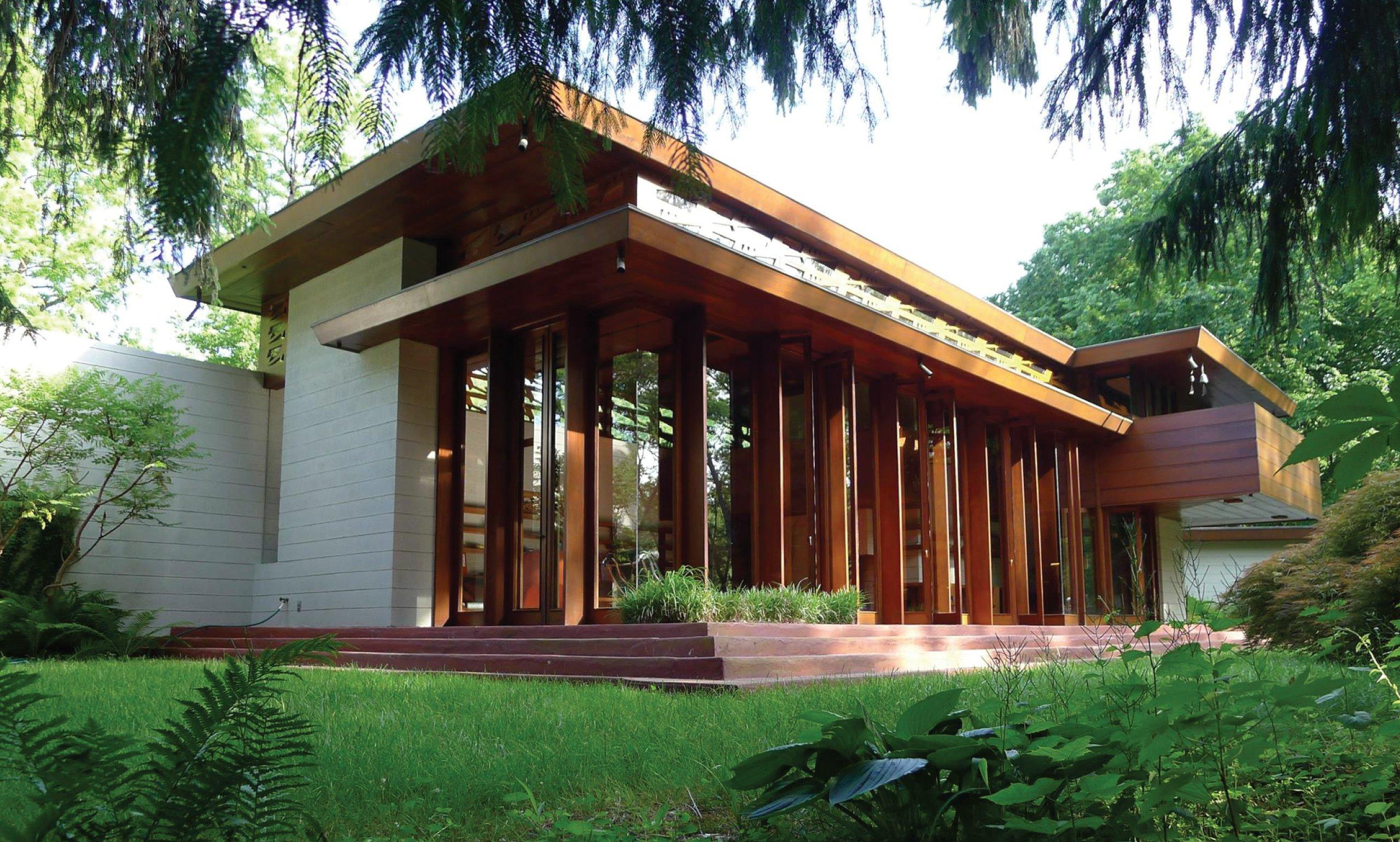 Relocated Frank Lloyd Wright house gets November opening