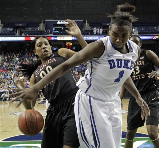 No. 6 Duke beats No. 23 FSU 72-66 in ACC semifinal