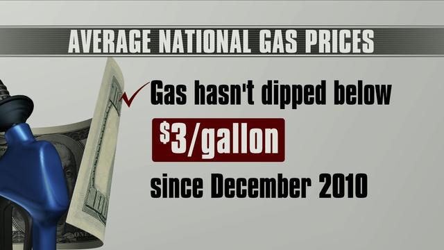 Gas prices expected to drop nationwide