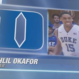Best of Duke's Jahlil Okafor vs Notre Dame