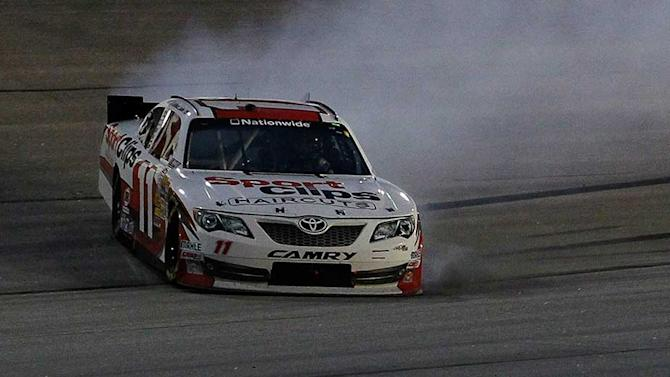 Sadler recovers from spin for second at Darlington