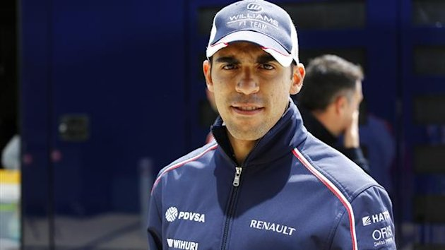 2013 GP of Great Britain Williams Maldonado
