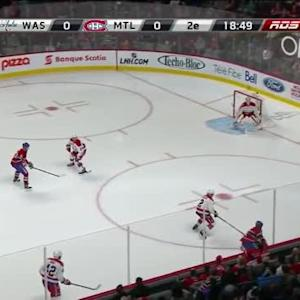 Braden Holtby Save on Jiri Sekac(01:16/2nd)