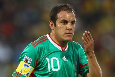 Cuauhtémoc Blanco got a deafening ovation in his last appearance at Estadio Azteca