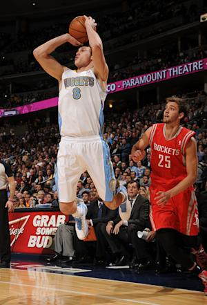 Gallinari's 27 lead Nuggets past Rockets, 118-110