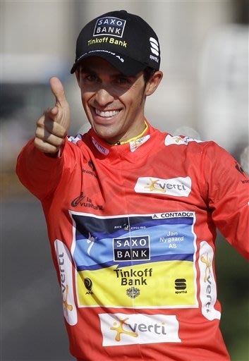 Contador wins 2nd Vuelta title for 5th major win