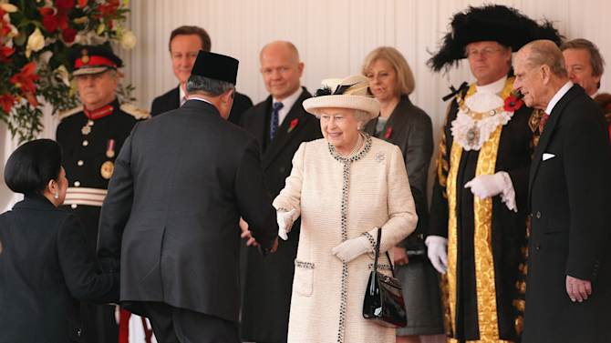 The Indonesian President Susilo Bambang Yudhoyono's State Visit To The UK - Day One