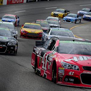 Top 5 Reax: Harvick, Johnson, McMurray, Logano