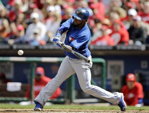 Bautista homers as Blue Jays beat Phillies 10-4