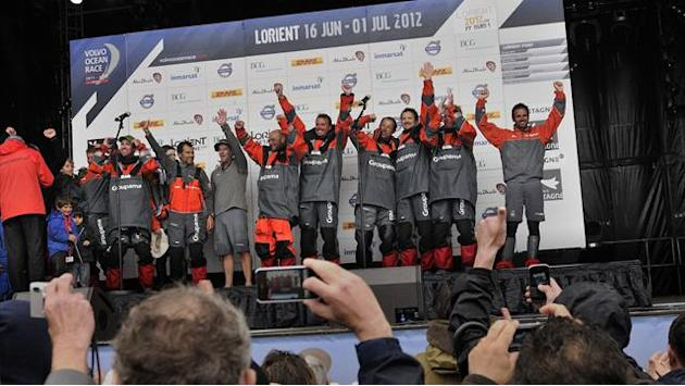 Groupama win Volvo Ocean Race at end of eight-month trek