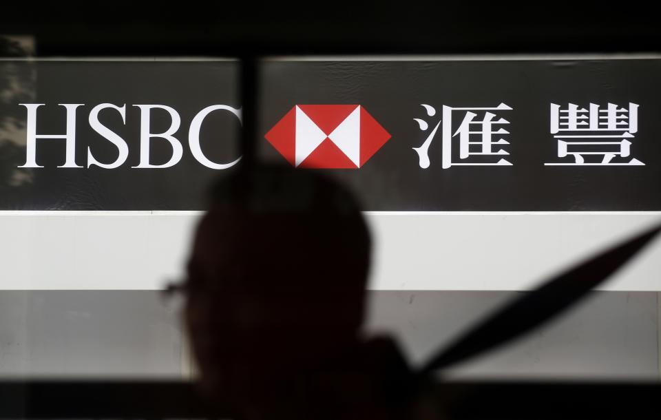 HSBC bank says 1st half profits at $10.3 billion