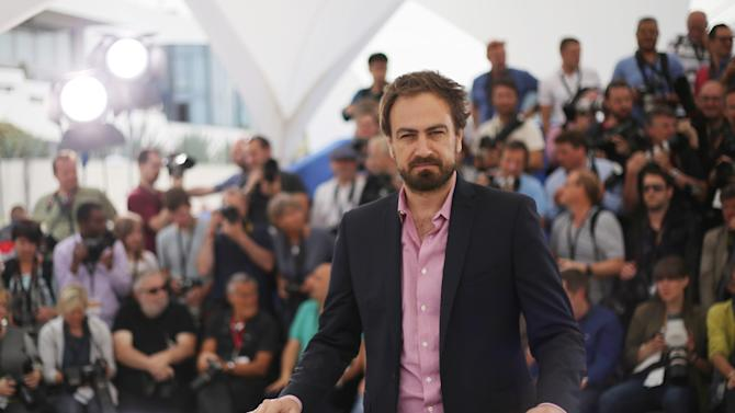 Director Justin Kurzel poses for photographers during a photo call for the film Macbeth, at the 68th international film festival, Cannes, southern France, Saturday, May 23, 2015. (Photo by Joel Ryan/Invision/AP)