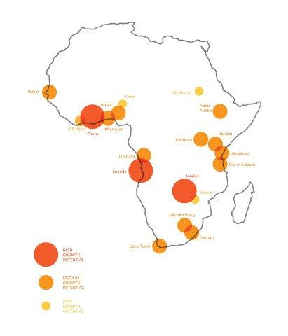 MasterCard Study Reveals African Cities Economic Growth Potential