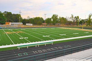 Mineral Springs turf football field
