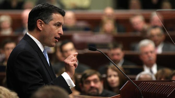 Sandoval optimistic in State of the State address