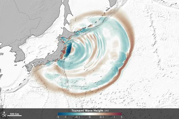 GPS Could Issue Tsunami Alert in Minutes