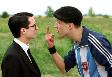Elijah Wood and Eugene Hutz in Warner Independent Pictures' Everything Is Illuminated
