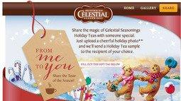 Celestial Seasonings® Enables Fans To Share The Flavors Of The Holidays