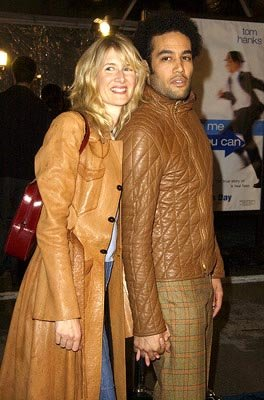 Laura Dern and Ben Harper at the Hollywood premiere of Dreamworks' Catch Me If You Can