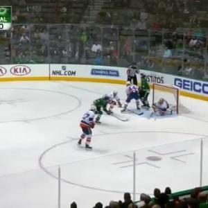 Jaroslav Halak Save on Brett Ritchie (07:08/2nd)
