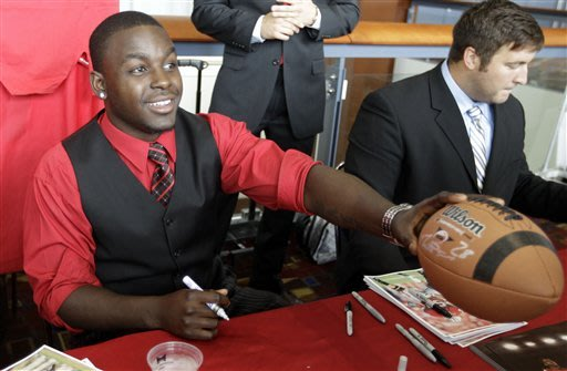 Wisconsin running back Montee Ball attacked