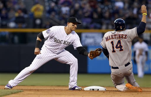 Astros use 6-run sixth inning to top Rockies, 7-5