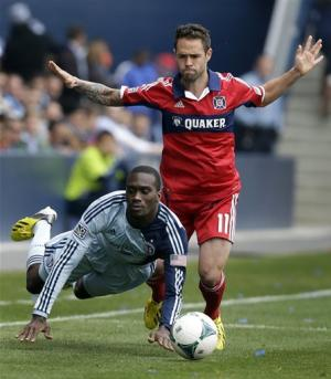 Fire, Sporting Kansas City tie 0-0
