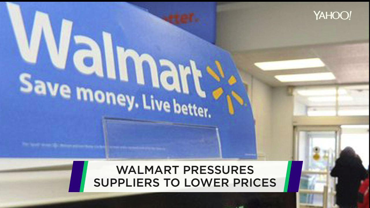 Wal-Mart seeks assist from its suppliers to lower prices