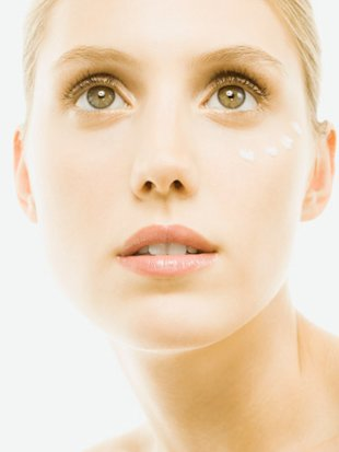 woman's clean face