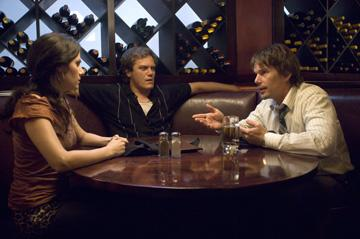 Aleksa Palladino , Michael Shannon and Ethan Hawke in THINKFilm's Before the Devil Knows You're Dead