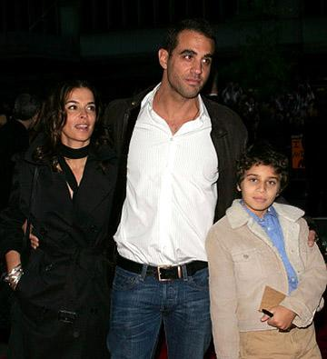 Premiere: Annabella Sciorra and Bobby Cannavale at the NY premiere of Warner Bros. Pictures' Harry Potter and the Goblet of Fire - 11/12/2005