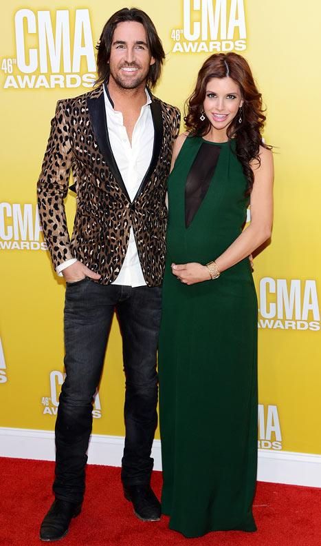 PICTURE: Jake Owen's Wife Lacey Buchanan Flaunts Baby Bump at 2012 CMA Awards