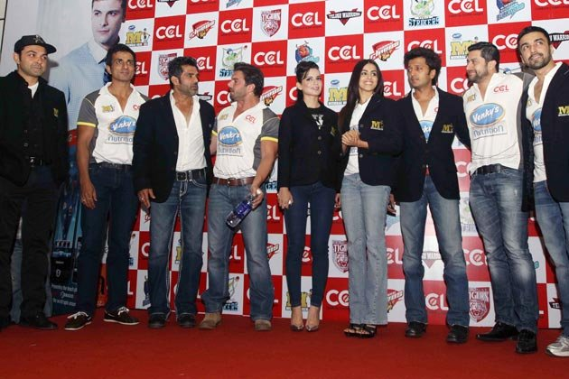  Check Out! Celebrity Cricket League's official Launch 
