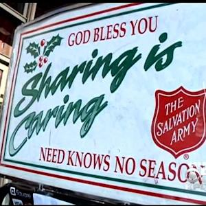 Salvation Army Blames Oakland Protests For Drop In Donations