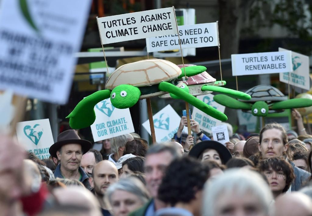 Climate pledges, mass marches ahead of UN summit