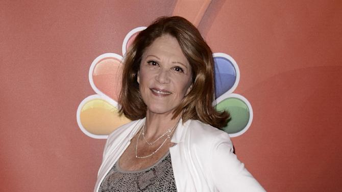"""FILE - This July 27, 2013 file photo shows Actress Linda Lavin at the NBC 2013 summer press tour in Beverly Hills, Calif. Lavin will star in a Nicky Silver play, being directed by Mark Brokaw and at the Vineyard Theatre in New York. The off-Broadway theater said Tuesday, Dec. 10, that Tony Award-winning Lavin will star in Silver's new play """"Too Much Sun,"""" which begins previews May 1 with an official opening set for May 20. The play is about a celebrated actress who unravels while preparing for a new production of """"Medea."""" (Photo by Dan Steinberg/Invision/AP, File)"""