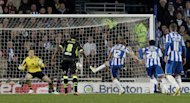 Craig Mackail-Smith, centre, scored one penalty and missed another on Friday