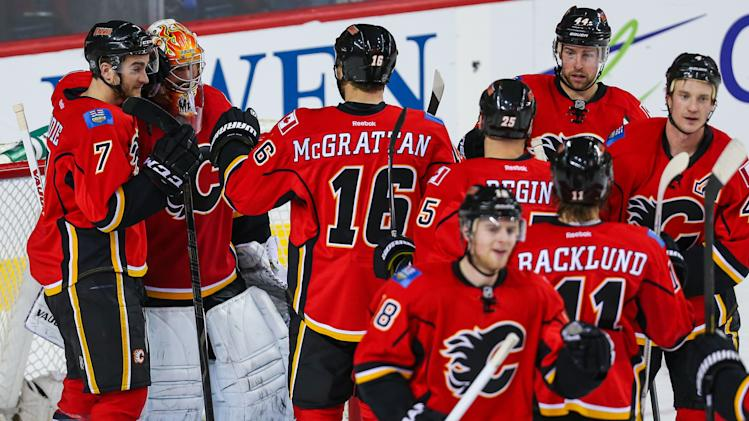 NHL: Colorado Avalanche at Calgary Flames