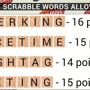 Scrabble is adding thousands of words to its dictionary