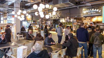 Blitzing Through City Kitchen, Times Square's Newest Food Court