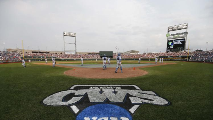 NCAA Baseball: College World Series-UCLA vs Mississippi State